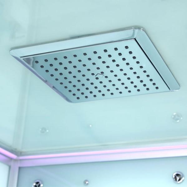 dampfdusche wei farblicht 135cm x 135cm dampfduschen alle duschen. Black Bedroom Furniture Sets. Home Design Ideas