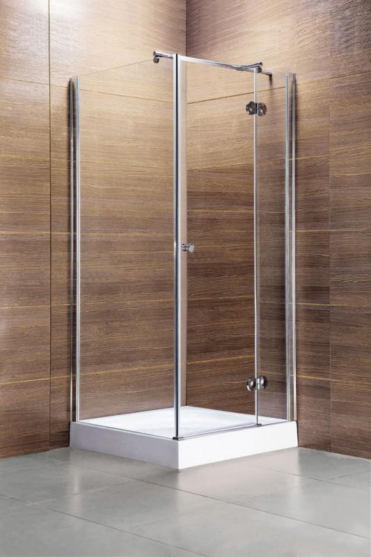 duschabtrennung t r mit seitenteil duschen. Black Bedroom Furniture Sets. Home Design Ideas