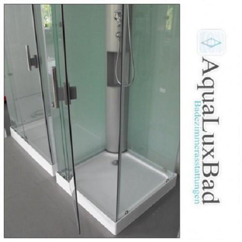designer dusche mit rundumverglasung eckeinstieg duschen duschkabinen rechteckig. Black Bedroom Furniture Sets. Home Design Ideas