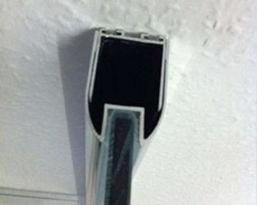 Dusche Trennw?nde : Duschwand Festwand mit Nanobeschichtung Duschen Trennw?nde