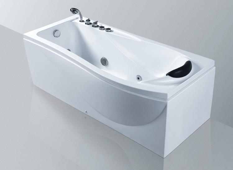 Komfortabler whirlpool badewanne whirlpools eago rd serie - Whirlpool badewanne freistehend ...