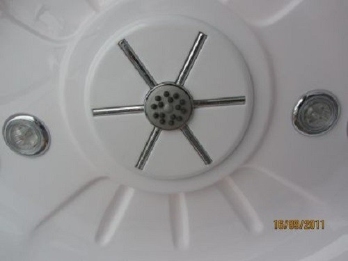 dampfdusche in silber grau dampfduschen ohne whirlpool. Black Bedroom Furniture Sets. Home Design Ideas